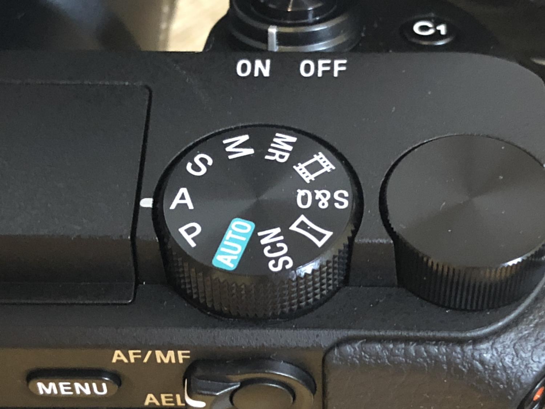 alpha6400_setting撮影モード0