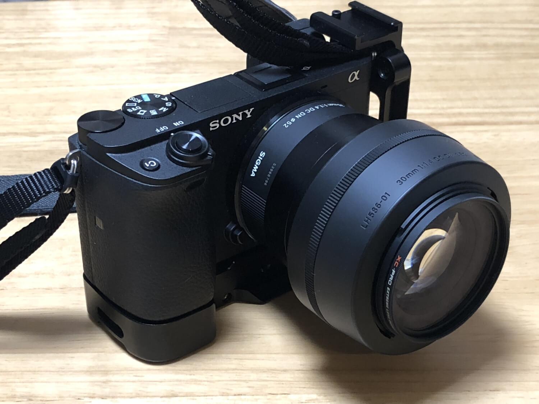 α6400_SIGMA30mmF1.4外観